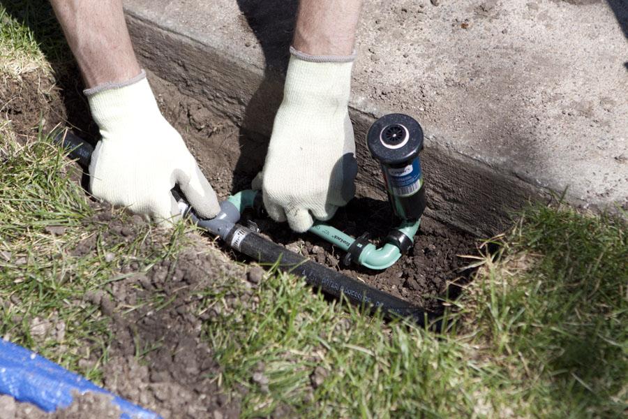 Repair-Sprinkler-System