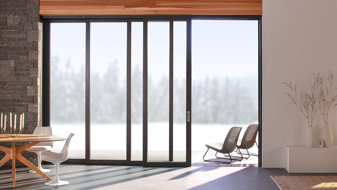 double sliding glass door